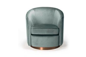 Swivel Sofa in Aqua product preview.