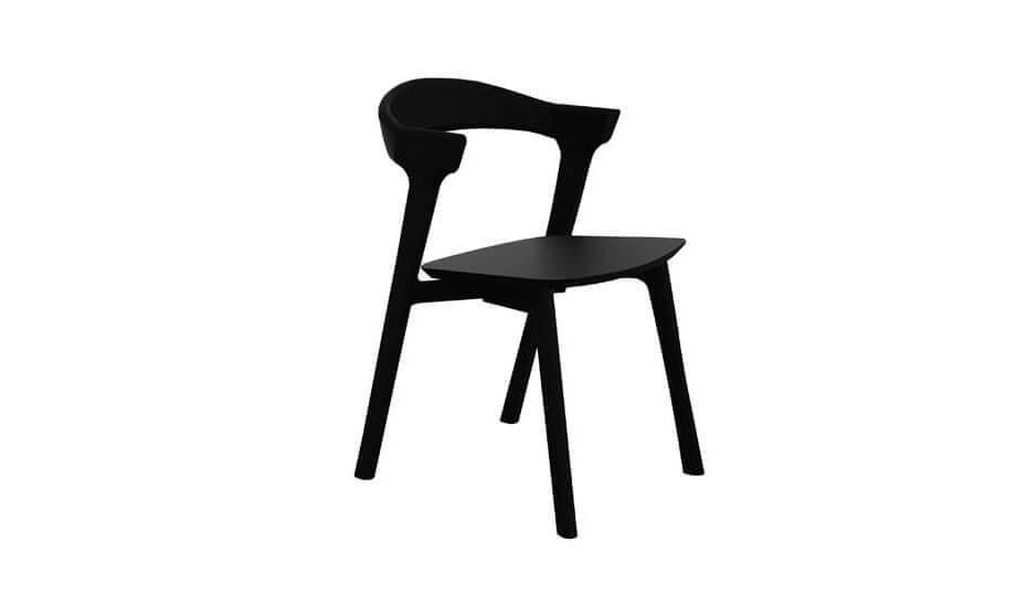 Oak Bok Dining Chair Black Dining Benches Cuchi