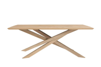Oak Mikado Dining table in 240 preview.