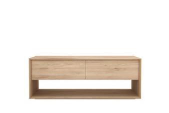 Oak Nordic Cuchi tv cupboard.