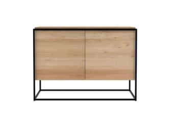 Monolit black framed sideboard product preview.